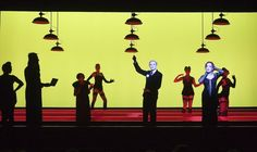 Holy cow. Guys, I've discovered Robert Wilson's lighting designs for a 2011 production of The Threepenny Opera and god save me I can't handle how nice they are.