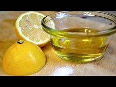 Mix Lemon Juice and Olive Oil for Amazing Benefits - YouTube