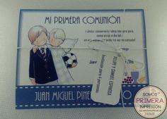Tarjetas de Invitación para Primera Comunión Niño