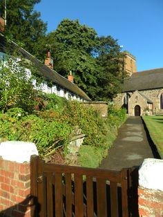 country-tweed: Alms cottages in the churchyard of St. Peters Church, Mancetter, Leicestershire, England (All Original Photography by vwcampervan-aldridge.tumblr.com)