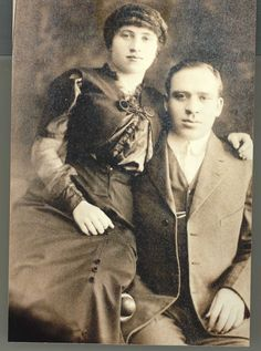 Members of the Solomowitz family, who lived in 97 Orchard in 1905. We have 11 members of the Solomowitz family on record, all born in Russia except the youngest boy, Sam.