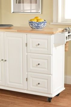Definetly a need for the kitchen - White Sundance Kitchen Cart