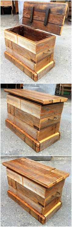 repurposed pallets chest plan