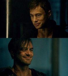 #Dominion   Michael & Gabriel,awwww..just look at both of their smiles! :D - The wolf that kills