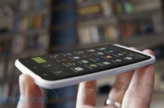 HTC ONE X. 4.7-inch 720p display, NVIDIA's Penta Core Tegra 3, clocked at 1.5GHz, 32GB of memory and all of it ends up thinner then the Iphone 4s.