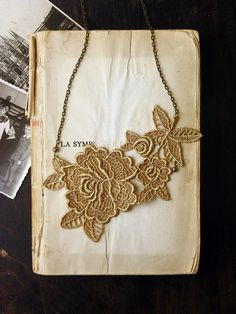 lace--could make this or something very similar!!