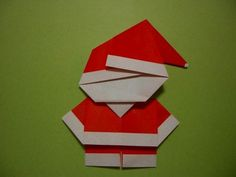 DIY Cute Paper Santa Claus DIY Projects | UsefulDIY.com Follow us on Facebook ==> https://www.facebook.com/UsefulDiy