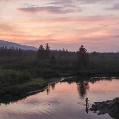 """""""A meandering river to Columbia Lake is one of the best places to cool off after a hot day in the Rocky Mountain trench."""" Photo / caption: @kari_medig via Instagram #exploreBC #exploreCanada #exploreKR Dawson Creek Bc, Photo Caption, Hot Days, Rocky Mountains, British Columbia, The Good Place, River, Explore, Trench"""