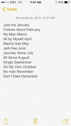 The Single life chose me;)