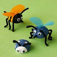 Many different cute kids crafts using styrofoam - something for every season!