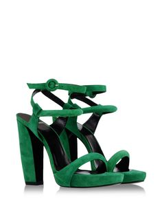 Lucie Hermes ladies&39 sandal in suede goatskin zipper with &quotChaine
