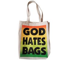 god hates bags tote {revel & riot}