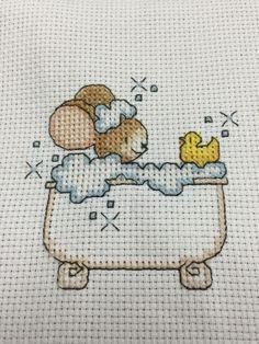 rub a dub dub . . . a mouse in a tub