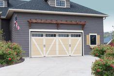 Wind Load Courtyard Garage Doors