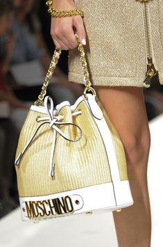 Moschino at Milan Fashion Week Spring 2014 - StyleBistro