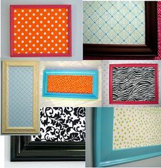DIY bulletin boards