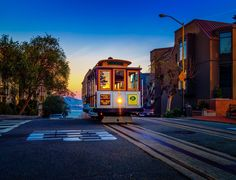 Cable Car Sunrize by T. Malachi Dunworth  on 500px