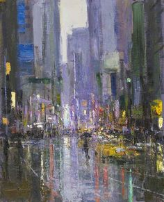 John Martin Gallery - Andrew Gifford, New York Paintings