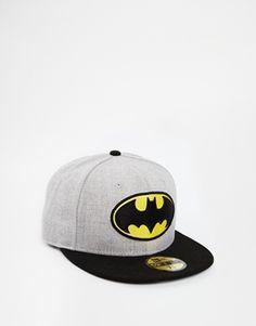 New Era 59Fifty Batman Fitted Cap - that should be mine! Nova Tampa Era 7217f26fb19