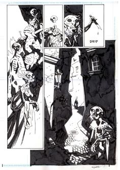 Hellboy In Hell 6 Page 12 Comic Art