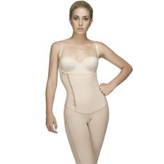 Made with Powernet fabric and latex front panel that molds your abdomen, waist and back; slims your hips and thighs; and is specially made to shape your buttocks.