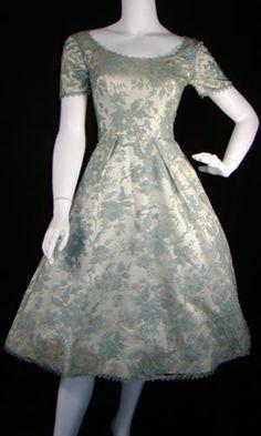 vintage dresses | ... bridesmaids ceremony dress orange vintage white Bridesmaid Dress 2