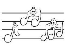 pintar notas musicales en tazas - Buscar con Google