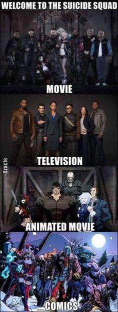 Suicide Squad Version