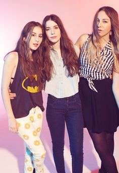Haim I love their song THE WIRE
