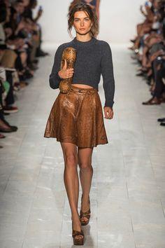 MOCK NECK...MICHAEL KORS – SPRING 2014 READY-TO-WEAR #flowear #fashion ✻ www.flowear.org