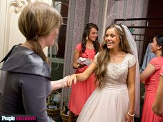 If you've got a heartbeat and a smartphone, you've probably heard that Jessa Duggar and Ben Seewald, of TLC's 19 Kids & Counting, tied the knot on November Jessa made headlines with some of her unique choices for the wedding, including an Jessa Duggar Wedding Dress, Lds, Perfect Wedding, Dream Wedding, 19 Kids And Counting, Marriage Certificate, Allure Bridal, Bridesmaid Dresses, Wedding Dresses