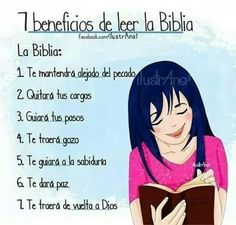 Beneficios de leer la Biblia.