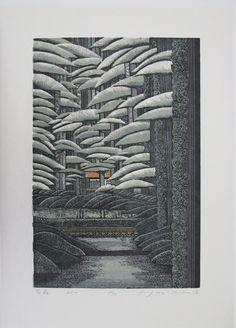 Les gravures sur bois de Ray Morimura