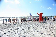 Running: Dolphin Dip Run 2012, Topsail Island