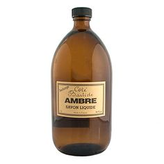Cote Bastide Amber Liquid Soap Refill - Made in France