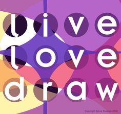 Illustrations by Sylvia Pekarek at Coroflot.com