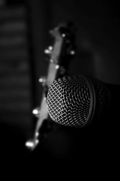 Find Microphone Closeup Bass Guitar Background stock images in HD and millions of other royalty-free stock photos, illustrations and vectors in the Shutterstock collection. Thousands of new, high-quality pictures added every day. Music Pics, Music Images, Music Pictures, Music Wallpaper, Black Wallpaper, Artistic Wallpaper, Sound Of Music, Music Is Life, Musician Photography