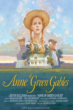 Anne of Green Gables movie poster by Canadian painter and illustrator, James Hill   © Kevin Sullivan Productions