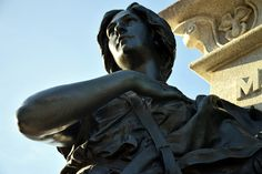 Justice by Claude Charbonneau on Ottawa, Statue, Sculptures, Sculpture