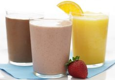 3 Smoothies, Protein Packed, Immune Booster and Morning Rush