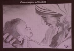 Mother, the dearest one on the earth. - Sketching by Mohan Lama in My Pencil Sketches at touchtalent