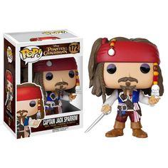 Funko Disney Pirates Of The Caribbean POP Captain Jack Sparrow Vinyl Figure