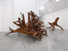 Ai Weiwei: Roots at Lisson Gallery, London - Arte Fuse Lisson Gallery, Tree Felling, Ai Weiwei, Ancient Myths, Giant Tree, Galleries In London, Thing 1, Steel Sculpture