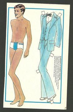 Robert Redford 1974 Vintage Paper Doll | eBay