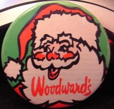 Woodward's Toyland Button