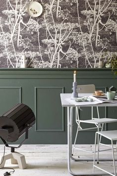 Puik Art | Dutch designers collective  barefootstyling.com green and wallpaper black and pastel