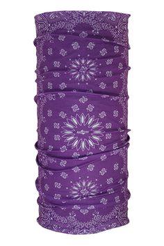 Proper Paisley Purple | Hoo Rag hoorag.com