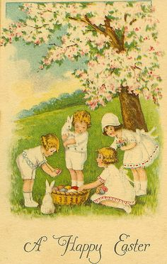Easter card by atticjunkie.com, via Flickr