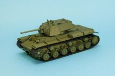 WWII KV-1 Heavy Tank Paper Model Free Template Download