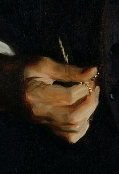 """detail from """"Henry Cabot Lodge"""" by John Singer Sargent @ National Portrait Gallery i amazed myself by recognizing this right away. John singer sargent paints the most beautiful skin Figure Painting, Painting & Drawing, Sculpture Painting, Gravure Photo, Alluka Zoldyck, Sargent Art, National Portrait Gallery, Classical Art, Art Studies"""